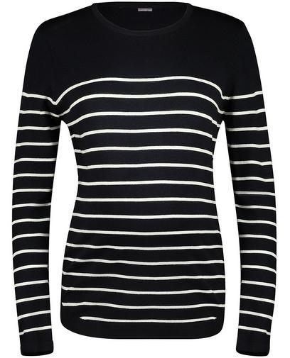Pullover aus Viskose mit Streifen